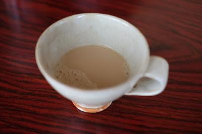 コーヒートレーニング・淹れ方の勉強 生坂村の白日窯のコーヒーカップ