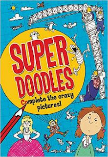 Super Doodles: Complete the Crazy Pictures!