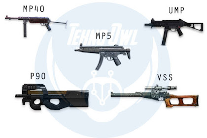 Senjata SMG Terbaik dan Tersakit Free Fire