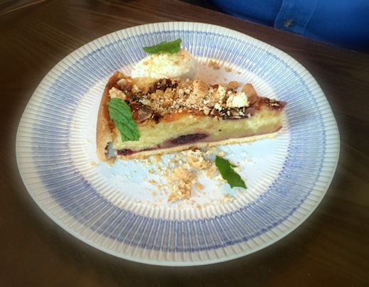 Jamie's Italian Nottingham Review | Morgan's Milieu: Sour Cherry and Almond Tart at Jamie's Italian.