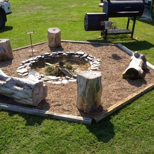Backyard fire pit | Backyards Click