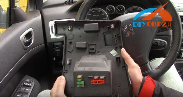 How to connect Lexia3 PP2000 with laptop and Peugeot 307