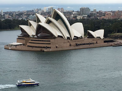 Sydney Opera House Viewed from Bridge