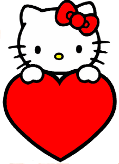 Sweet Hello Kitty Clip Art.