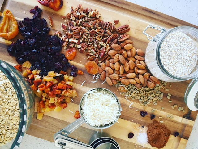 Granola Casera - Ingredientes