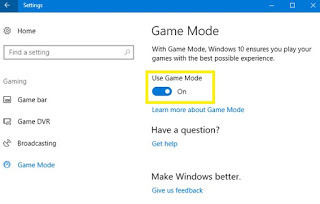 Cara Mengaktifkan Game Mode di Windows 10