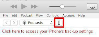 cara backup iPhone dengan iTunes