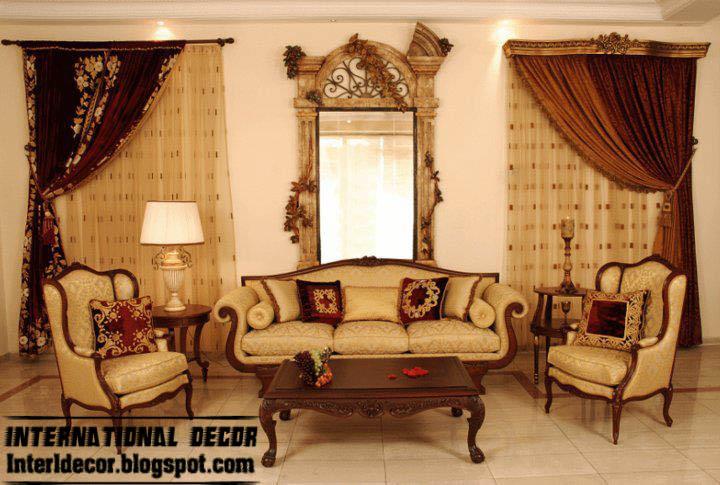 Turkish Living Room Design Ideas Curtains Mirror Frame Furniture