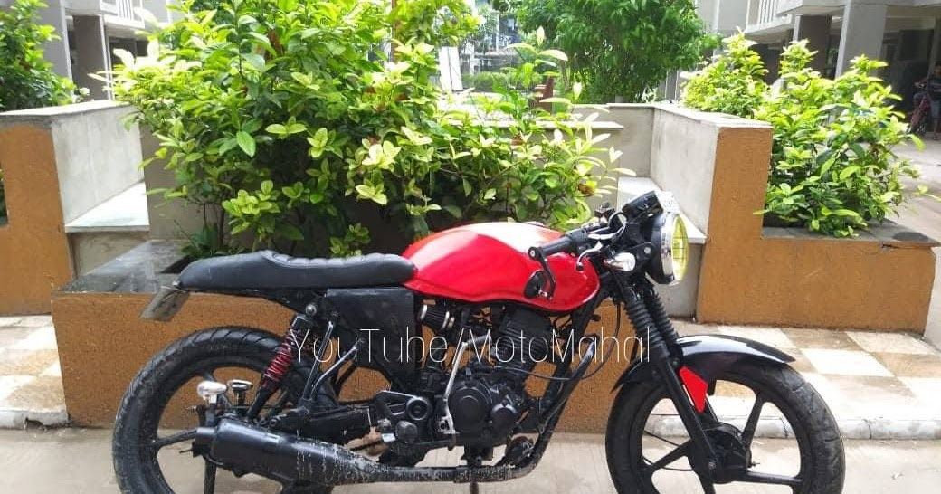 Bajaj Xcd 125 Cafe Racer By Mcm Customs Motoauto