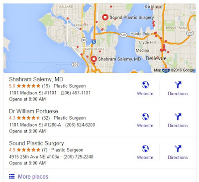 local search engine optimization for surgeons