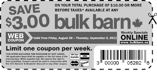 COUPON: $3.00 Off at Bulk Barn!