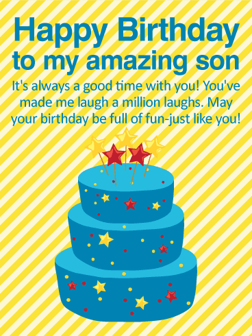 Happy Birthday Wishes & Quotes for Son from Mother / Father