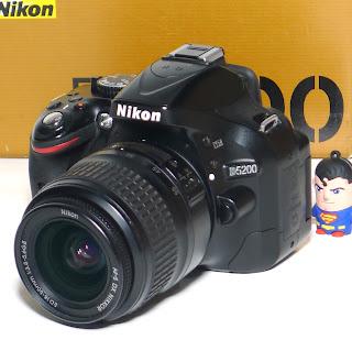Kamera Nikon D5200 Bekas Fullset Di Malang