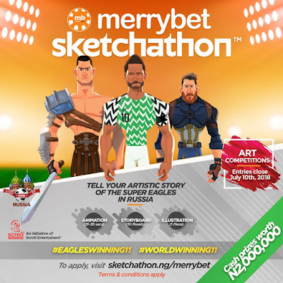 2-Million-Naira-For-Grabs-in-Merrybet-Sketchathon-Art-Contest.