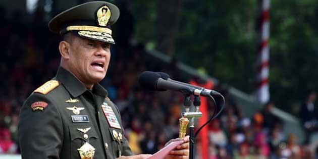 Panglima TNI: Narkoba dan Teroris Sama Bahaya, 250 Ton Sabu Dari China Masuk Ke Indonesia