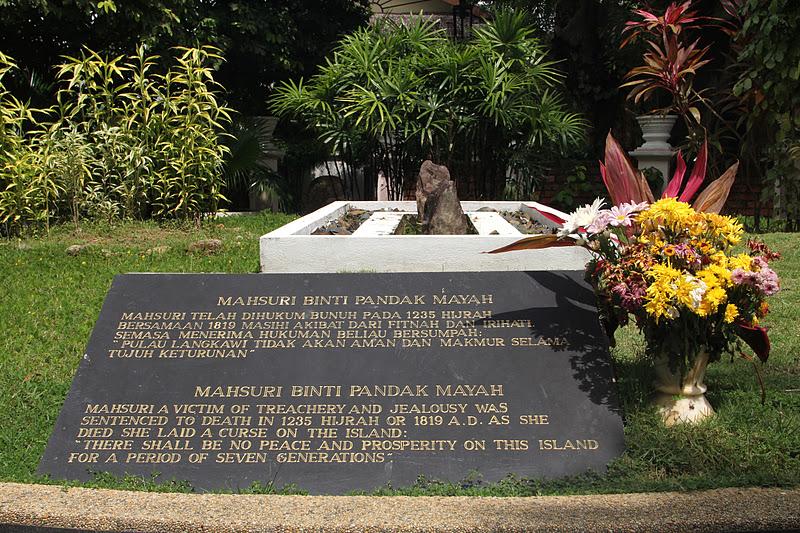 Pulau Langkawi Makam Mahsuri