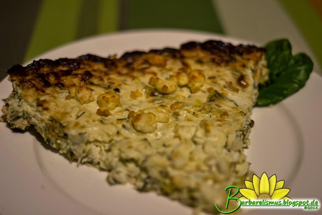 Barbarelismus: Zucchini Ricotta Cheesecake