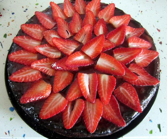 IMG 1032 - Tarta de Queso y Galleta con fresas