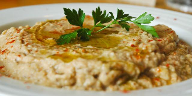 Baba Ghannouj / Grilled Eggplant Dip Recipe