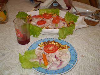 Ceviche food