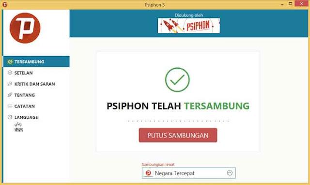 Cara Menggunakan Psiphon Pro Di Windows