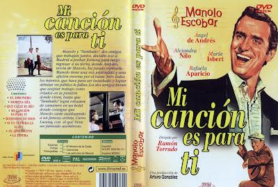 Caratula, cover, dvd: Mi canción es para ti | 1965