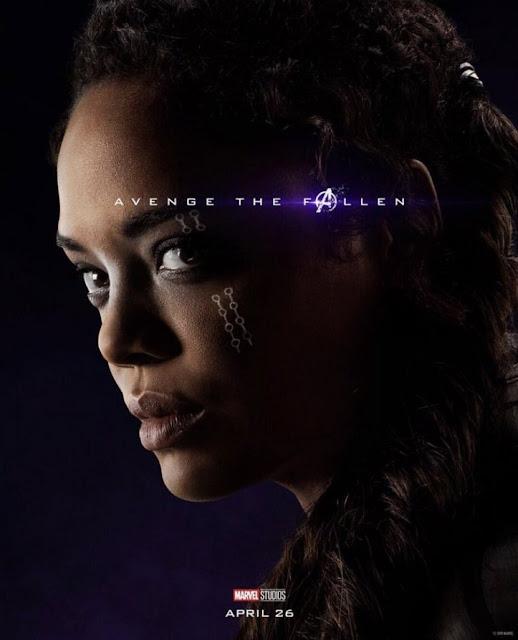Tessa Thompson Avengers: Endgame Poster And Trailer 2019