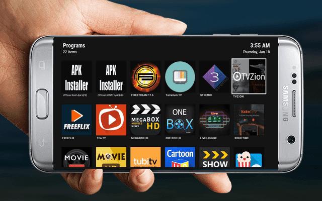 لو بحث عمرك كله لن تجد أفضل من هذا التطبيق ! فيه تطبيقات مشاهدة أي قناة تحلم بها وتطبيقات مشاهدة الأفلام والمسلسلات و العب أي شئ والمزيد