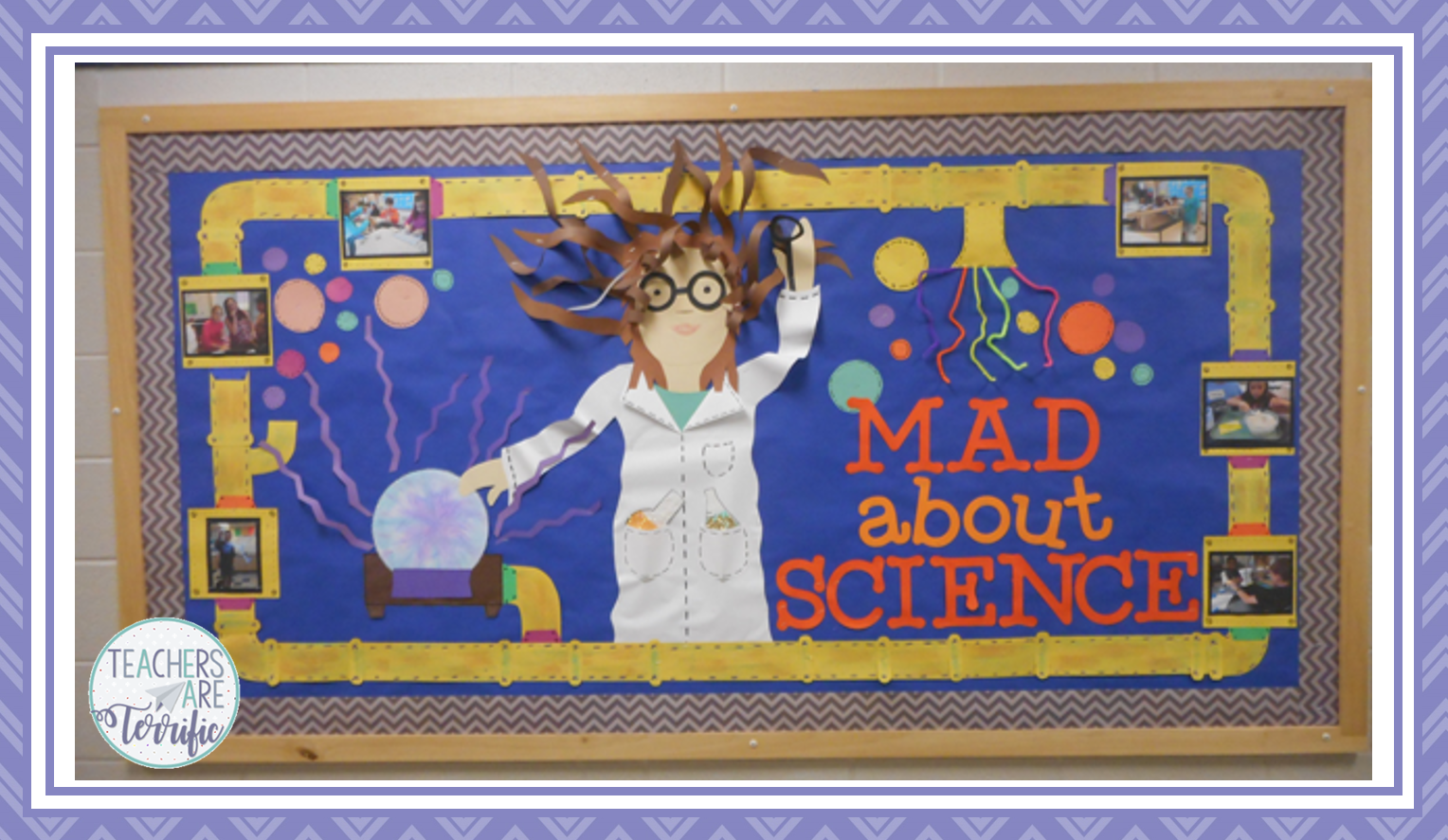 Fabulous Mad Scientist Board. Check the blog post for directions!