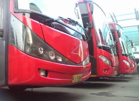 Bus Jakarta Solo