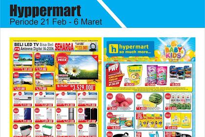 Katalog Promo Hypermart Periode 21 Februari - 9 Maret 2019