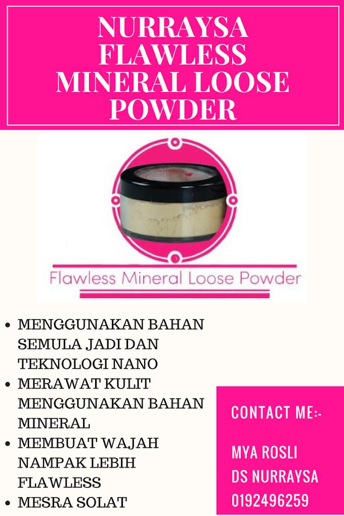 Nurraysa Flawless Mineral Loose Powder