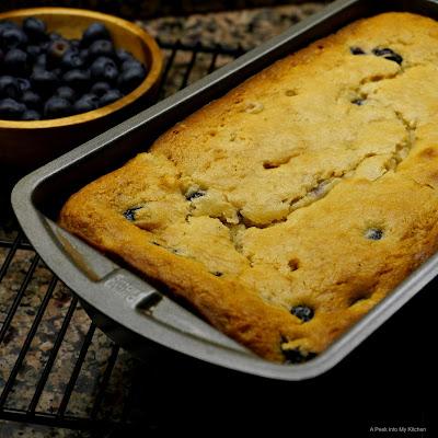 Eggless Blueberry Yogurt Cake ~ Day 150