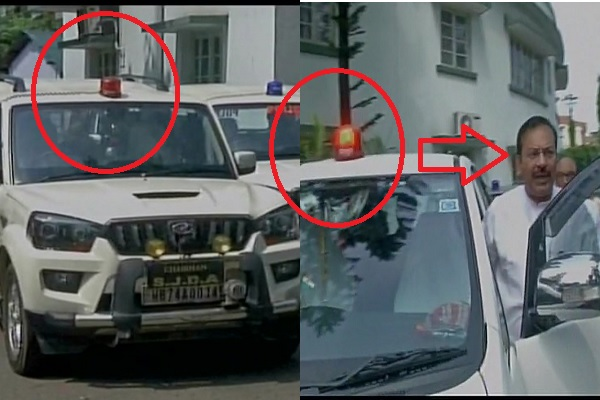शायद बांग्लादेश की सरकार का आदेश मानता है ममता का ये मंत्री, तभी नहीं उतार रहा है लाल बत्ती