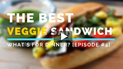 Cooking Video | The Best Veggie Sandwich