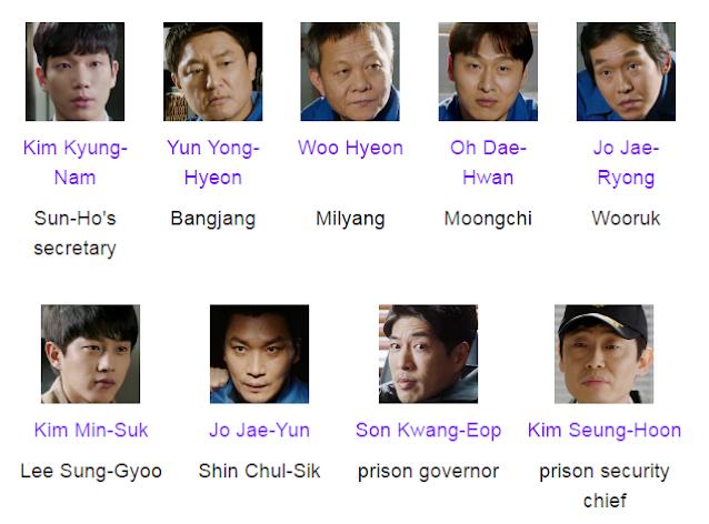 Defendant Korean Drama Cast
