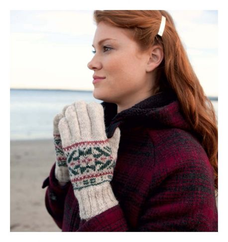 The Vintage Pattern Files: Free 1950s Style Knitting Pattern - Fair Isle Gloves