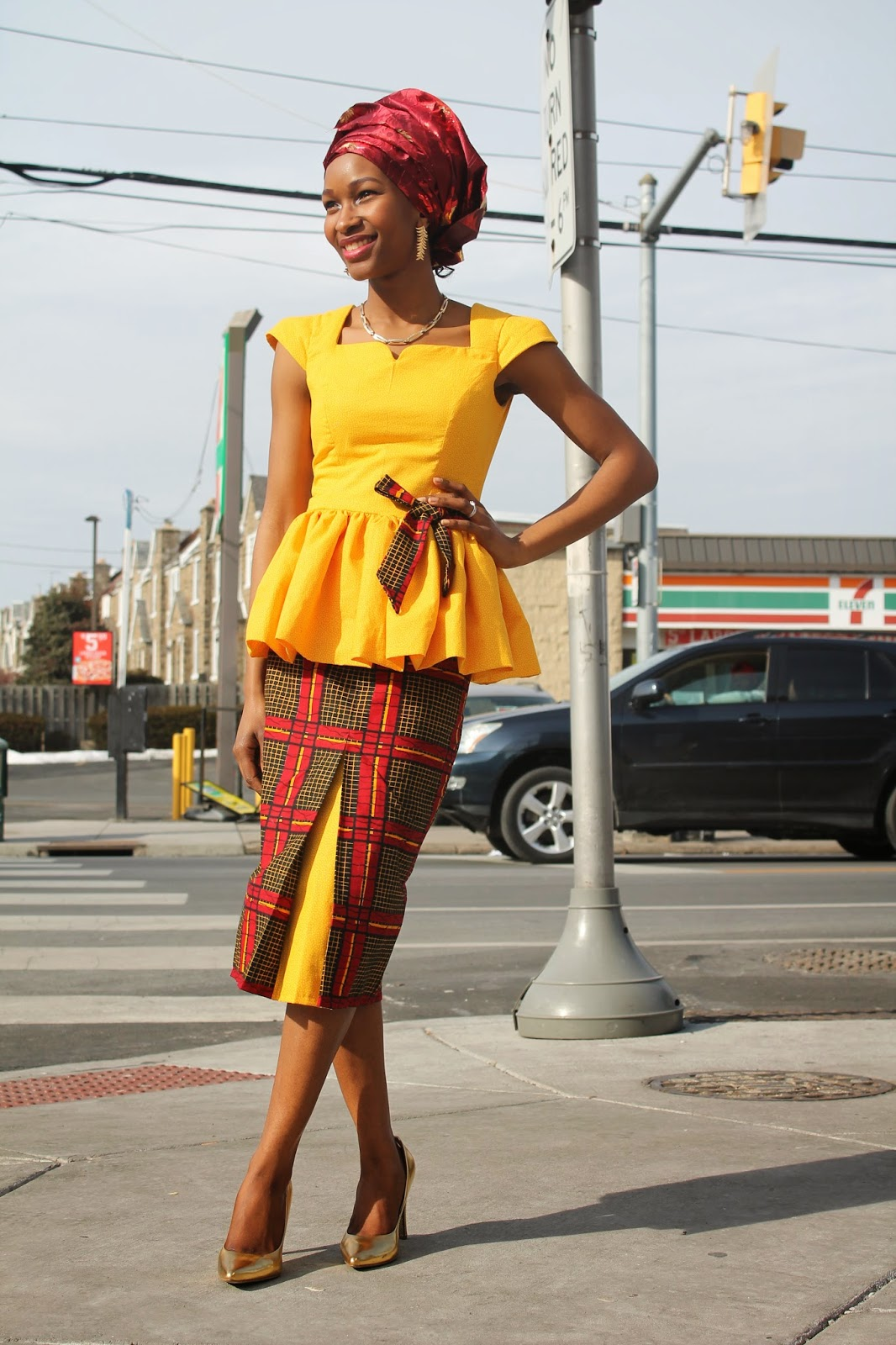 My Style Oasis, Ankara Pencil Skirt