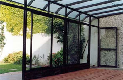Cristaler a salvador 651 100 709 cortinas de cristal for Cerramientos de interiores