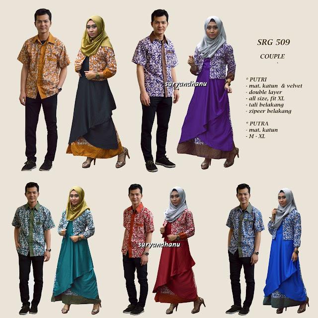 model baju batik terbaru 2018
