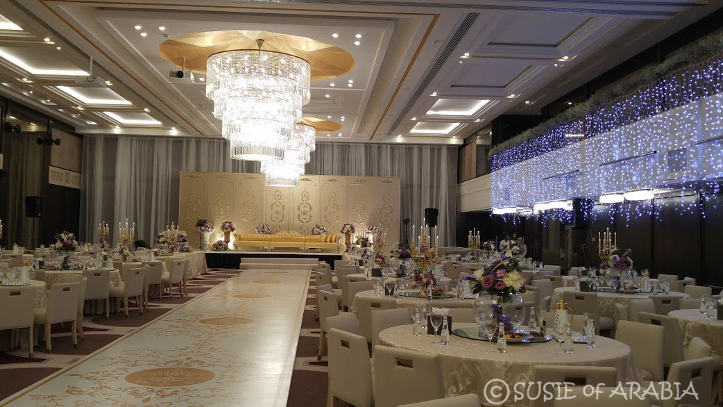 Jeddah daily photo saudi arabia wedding venue here is a peek inside what a saudi wedding venue looks like prior to when the guests start to arrive this event was for women only junglespirit Choice Image