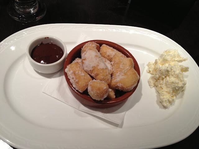 Bombolini mini doughnuts at Gusto Edinburgh