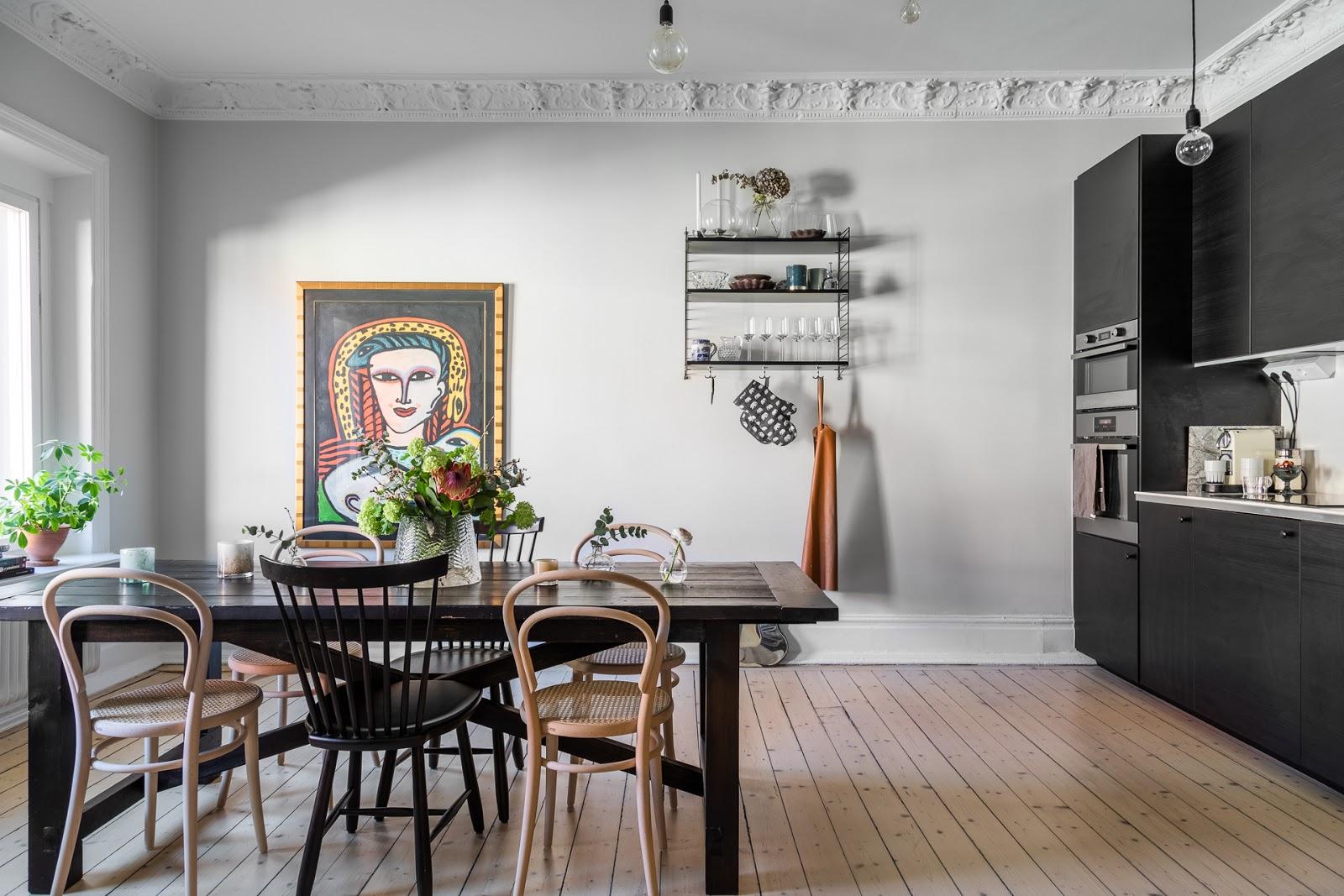 Cucina Scura In Stile Nordico Arc Art Blog By Daniele Drigo