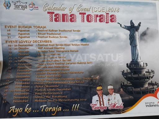 Ini Deretan Kegiatan Lovely Desember di Tana Toraja, yang Terancam Batal