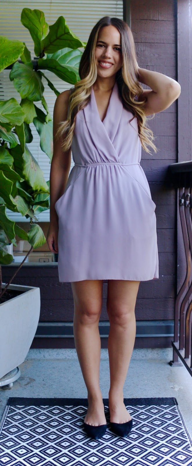 Jules in Flats - Aritzia Sabine Dress