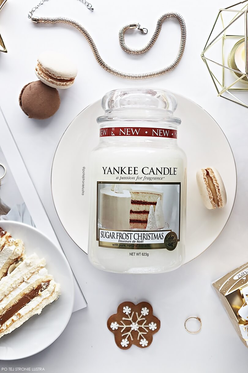 yankee candle sugar frost christmas recenzja blog