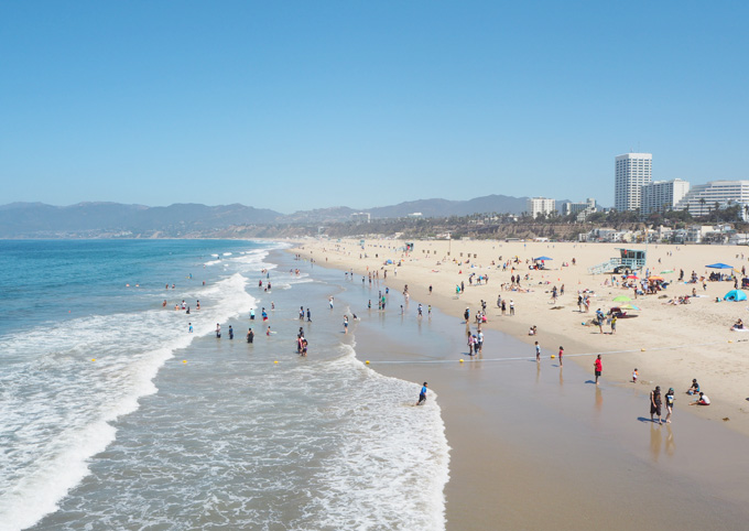 TravelGuidetoLA Santa Monica Beach