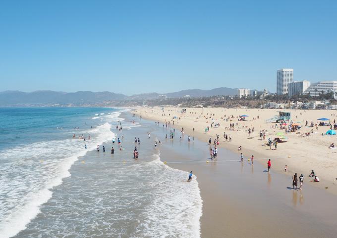TravelGuidetoLA Santa Monica Beach