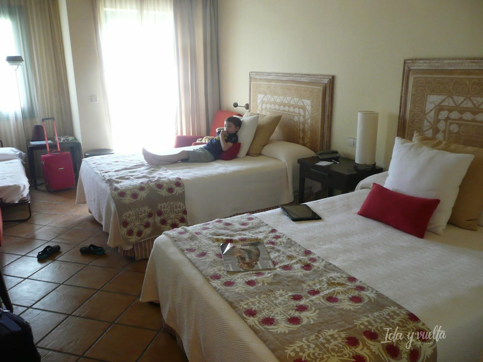 Hotel Almenara Sotogrande dormitorio