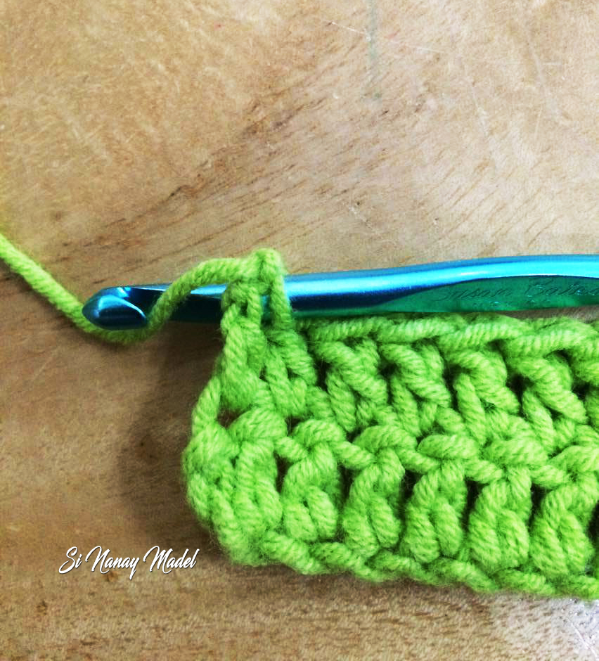 Si Nanay Madel How To Crab Stitch Or Reverse Single Crochet